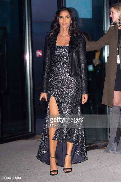 Padma Lakshmi at the Glamour Women of the Year Awards on November 12 2018 in New York City
