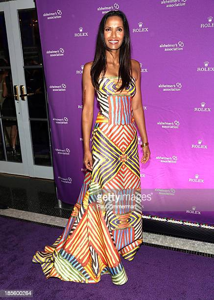 Padma Lakshmi attends 2013 Alzheimer's Association Rita Hayworth 30th Anniversary gala at The Waldorf=Astoria on October 22 2013 in New York City