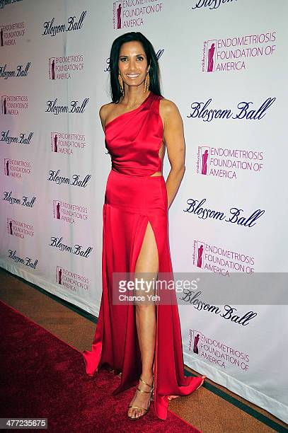 Padma Lakshmi attends 6th Annual Blossom Ball Benefiting Endometriosis Foundation Of America at 583 Park Avenue on March 7 2014 in New York City