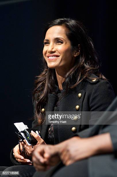Padma Lakshmi attends food For Thought At Chicago Ideas 2016 at Venue SIX10 on April 20 2016 in Chicago Illinois