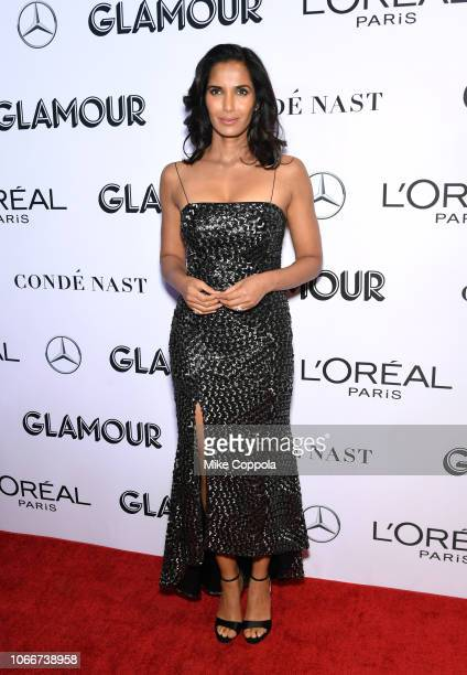 Padma Lakshmi attends Glamour Women of the Year Awards 2018 at Spring Studios on November 12 2018 in New York City