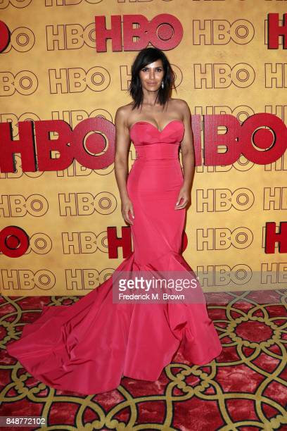 Padma Lakshmi attends HBO's Post Emmy Awards Reception at The Plaza at the Pacific Design Center on September 17 2017 in Los Angeles California