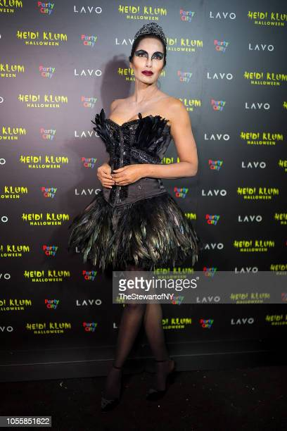 Padma Lakshmi attends Heidi Klum's 19th Annual Halloween party at Lavo on October 31 2018 in New York City