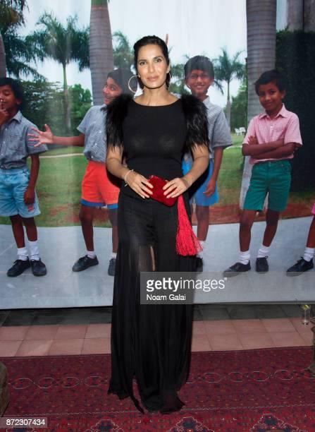 Padma Lakshmi attends Shanti Bhavan's 20th Anniversary Gala on November 9 2017 in New York City