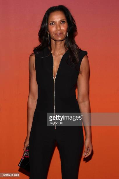 Padma Lakshmi attends the 2013 Whitney Gala and Studio party at Skylight at Moynihan Station on October 23, 2013 in New York City.
