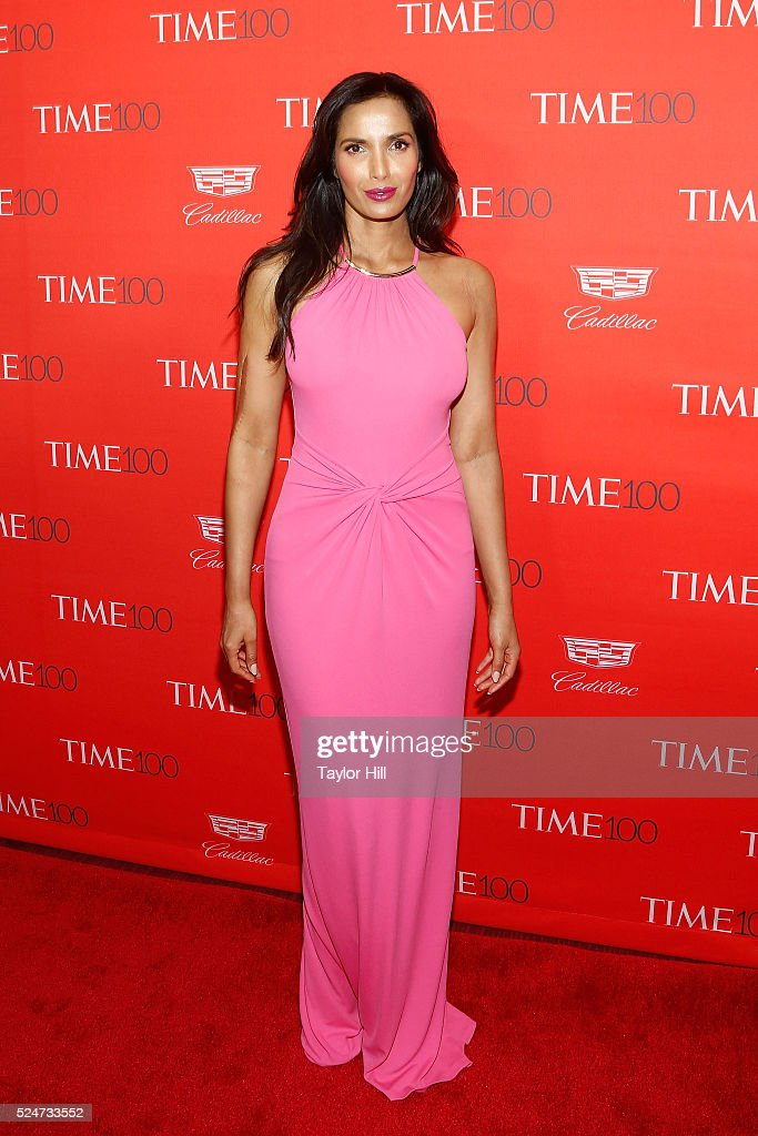 Padma Lakshmi attends the 2016 Time 100 Gala at Frederick P. Rose Hall, Jazz at Lincoln Center on April 26, 2016 in New York City.