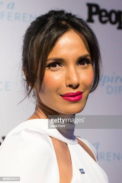 Padma Lakshmi attends the 2017 Inspire A Difference Honors event at Dream Hotel on November 2 2017 in New York City