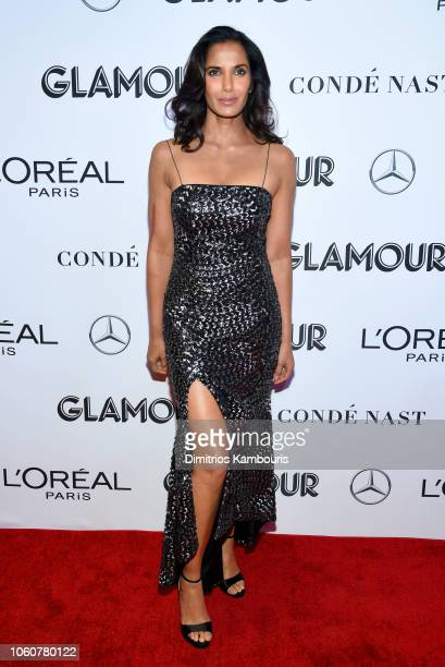 Padma Lakshmi attends the 2018 Glamour Women Of The Year Awards Women Rise on November 12 2018 in New York City