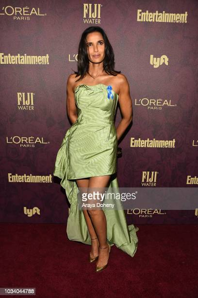 Padma Lakshmi attends the 2018 Pre-Emmy Party hosted by Entertainment Weekly and L'Oreal Paris at Sunset Tower Hotel on September 15, 2018 in West...