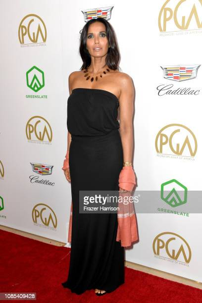 Padma Lakshmi attends the 30th annual Producers Guild Awards at The Beverly Hilton Hotel on January 19 2019 in Beverly Hills California