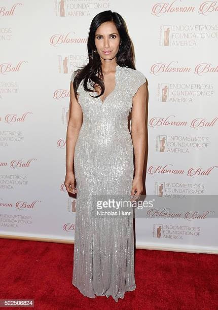 Padma Lakshmi attends the 8th Annual Blossom Ball at Pier Sixty at Chelsea Piers on April 19 2016 in New York City