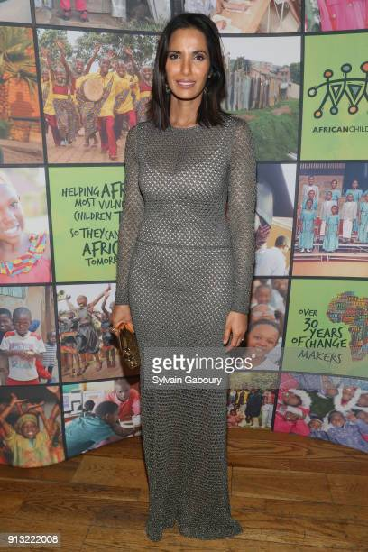 Padma Lakshmi attends The African Children's Choir ChangeMakers Gala at City Winery on February 1 2018 in New York City