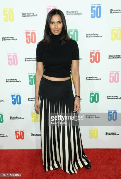 Padma Lakshmi attends The Bloomberg 50 Celebration at Cipriani 25 Broadway on December 10 2018 in New York City