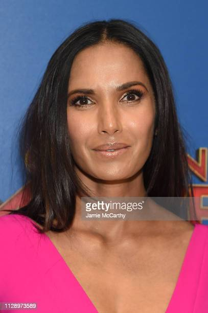 Padma Lakshmi attends the 'Captain Marvel' screening at Henry R Luce Auditorium at Brookfield Place on March 6 2019 in New York City