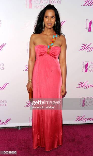 Padma Lakshmi attends The Endometriosis Foundation of America's 2nd Annual Blossom Ball at the New York Public Library A Schwartzman Building on May...