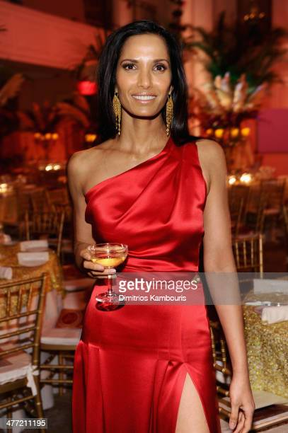 Padma Lakshmi attends the Endometriosis Foundation of America's 6th annual Blossom Ball hosted by Padma Lakshmi and Tamer Seckin MD at 583 Park...