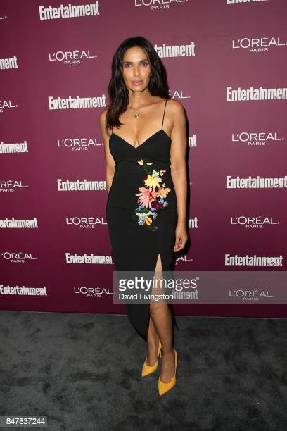 Padma Lakshmi attends the Entertainment Weekly's 2017 PreEmmy Party at the Sunset Tower Hotel on September 15 2017 in West Hollywood California