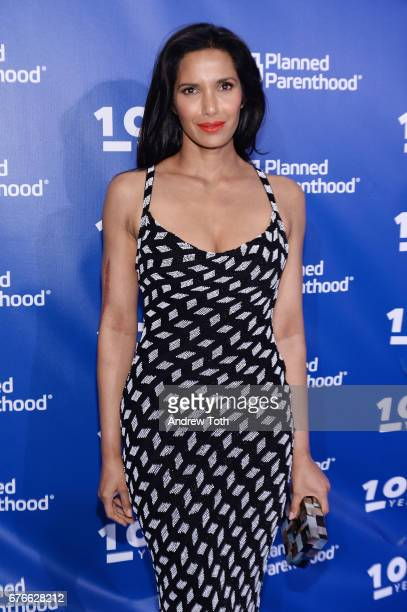 Padma Lakshmi attends the Planned Parenthood 100th Anniversary Gala at Pier 36 on May 2 2017 in New York City