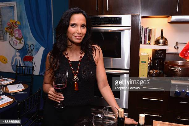 Padma Lakshmi celebrates European travel with Airbnb on April 7 2015 in New York City