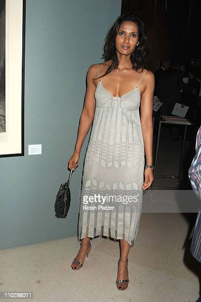 Padma Lakshmi during Hearst Magazines Hosts 30 Days of Fashion and Charity Auction Event Benefitting The Ovarian Cancer Research Fund at Hearst Tower...