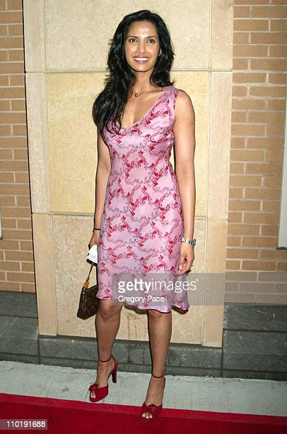 Padma Lakshmi during 'The Hunting of the President' New York Premiere at Skirball Center for the Performing Arts at New York University in New York...