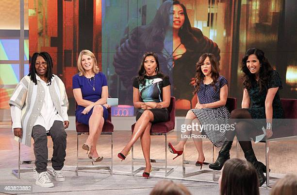 THE VIEW Padma Lakshmi guest cohosts Guests include David Frei with the winner of Westminster Dog Show Taraji P Henson and singersongwriter Estelle...
