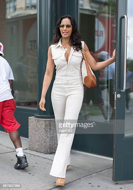 Padma Lakshmi is seen leaving her apartment on July 26 2016 in New York City