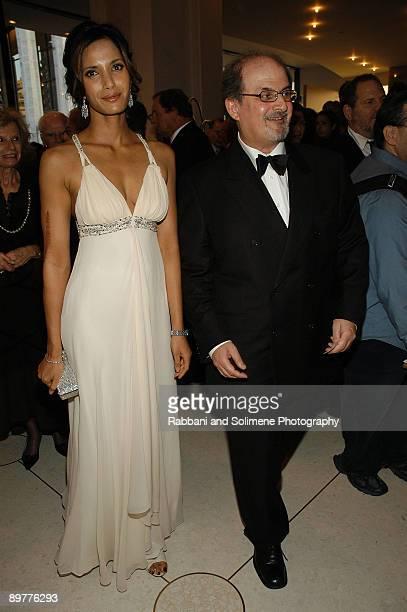 Padma Lakshmi Rushdie and Salman Rushdie