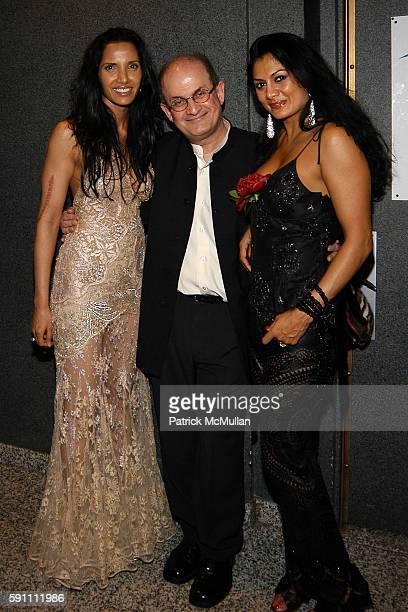 Padma Lakshmi Rushdie Salman Rushdie and Donna DeCruz attend Carlos Miele Padma Lakshmi host a Secret Afterparty honoring The Tribeca Film Festival...