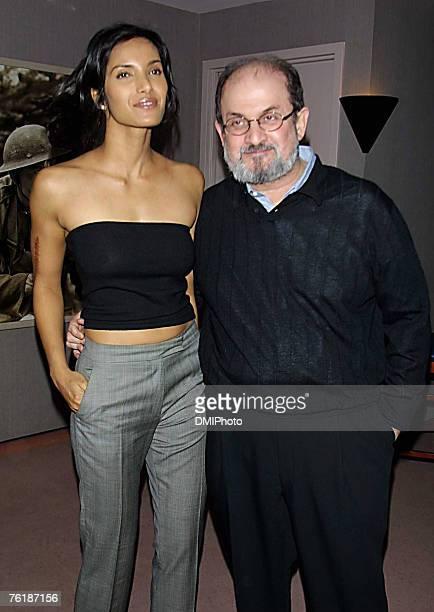 Padma Lakshmi Salman Rushdie