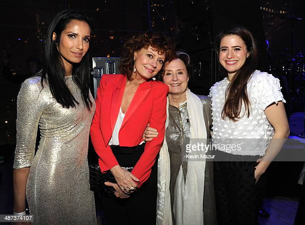 Padma Lakshmi Susan Sarandon Alice Walters and guest attend the TIME 100 Gala TIME's 100 most influential people in the world at Jazz at Lincoln...