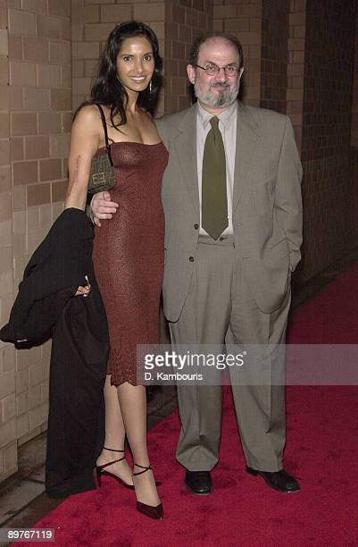 Padma Lashki and Salman Rushdie