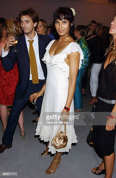 Padma Rushdie attends the launch of Salman Rushdie's latest book Shalimar The Clown at the David Gill Galleries September 7 2005 in London England