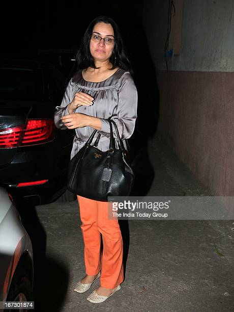 Padmini Kolhapure at the special screening of 'Aashiqui 2' in Mumbai on 23rd April 2013