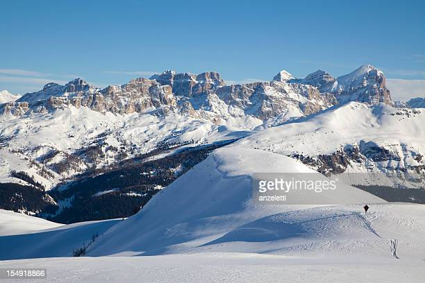 passo padon - alta badia stock pictures, royalty-free photos & images