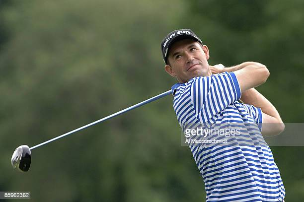 Padraig Harrington during practice for the Barclays Classic held at Westchester Country Club in Rye New York on June 6 2006