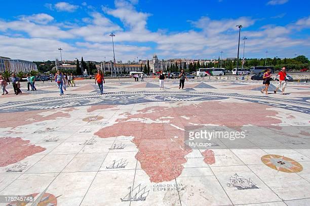 Padrao dos Descobrimentos Monument to the Discoveries Belem Lisbon Portugal