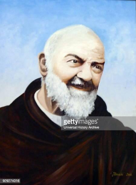 Padre Pio also known as Saint Pio of Pietrelcina priest stigmatist and mystic venerated as a saint of the Catholic Church Born Francesco Forgione he...
