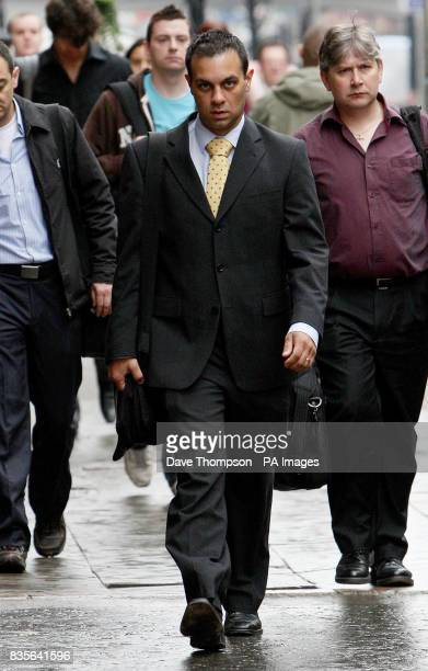 Paediatrician Dr Jonathan Chahal arrives at the General Medical Council in Manchester Chahal is accused of inhaling laughing gas whilst being on duty...