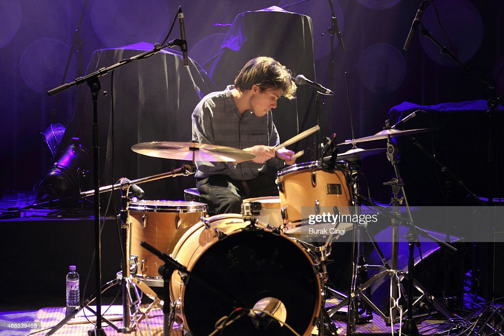Paeris Giles of The Magic Gang performs on stage at O2 Shepherd's Bush Empire on April 3, 2015 in London, United Kingdom.