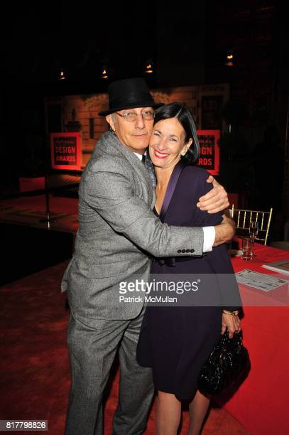 Paete Rosenthal and Amy Rosi attend the CooperHewitt National Design Museum 2010 National Design Awards Gala at Cipriani 42nd Street on October 14...