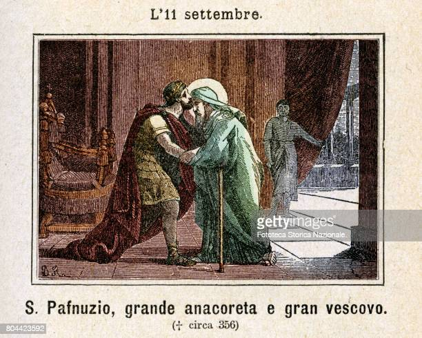 Pafnuzio of Thebes, known as Pafnuzio the Confessor , was Bishop of a city in the upper Tebaide at the beginning of the IV century and one of the...