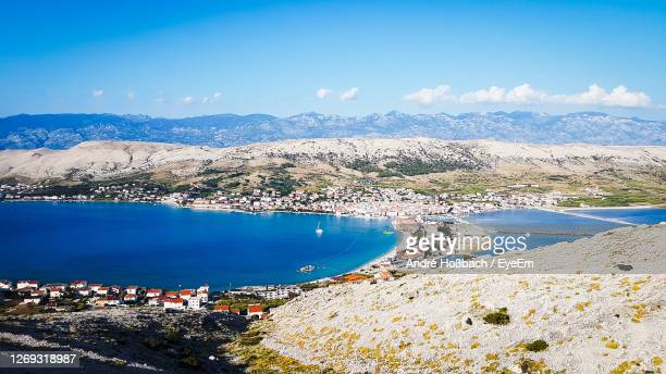 pag - croatia - croatia stock pictures, royalty-free photos & images