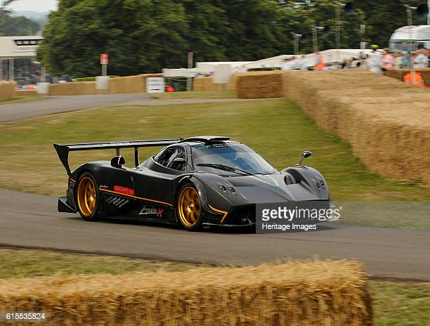 Pagani Zonda R Goodwood Festival of Speed Artist Unknown