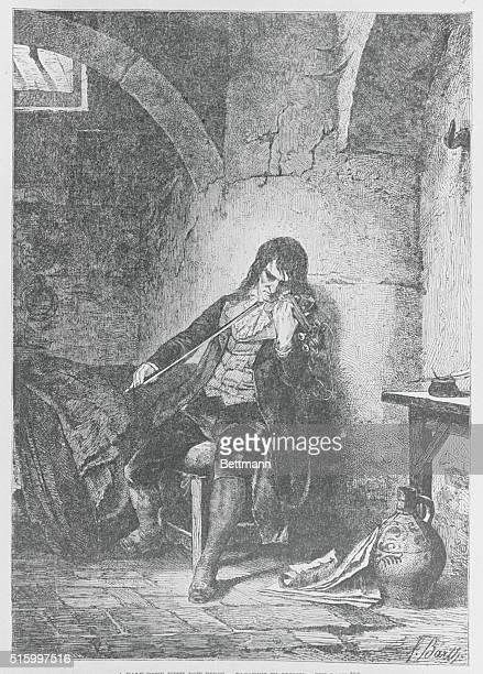 Nicolo Paganini in prison