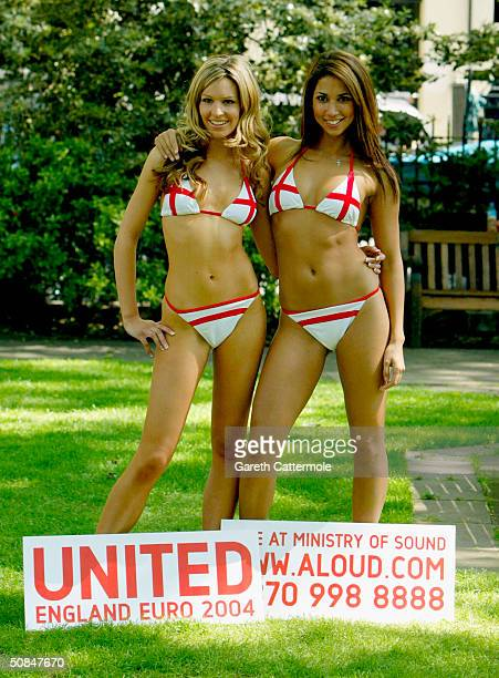 Page 3 girl Leilani launches ticket information for London superclub The Ministry of Sound's latest Euro 2004 tournament initiative at The Football...