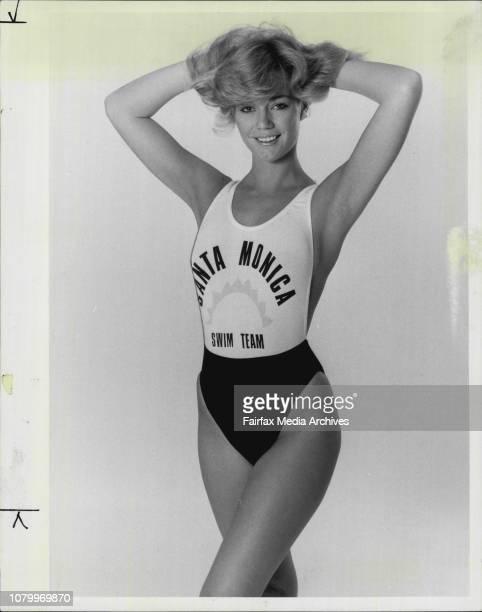Page 3 Girl LisetteBl amp wh orange amp lime motif $38 summer time swimwear April 11 1985