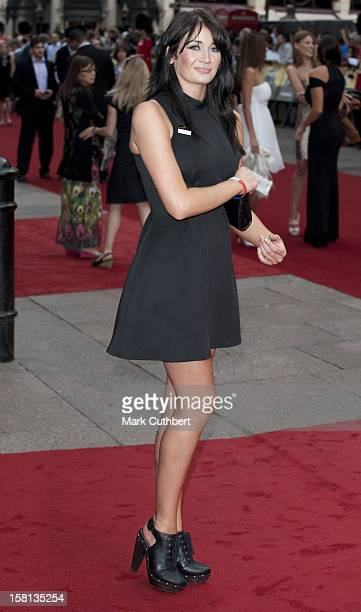 Page 3 Girl Peta Attends The Uk Film Premiere Of The Expendables At The Odeon Leicester Square August 9 2010 In London England