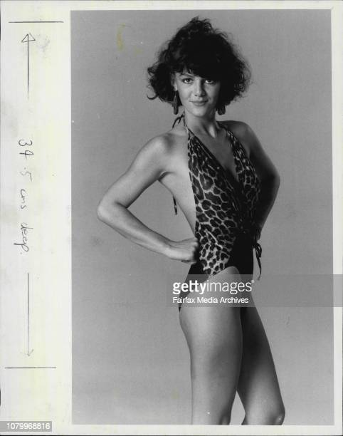 Page 3 Girl Virginia Curtis Beachwear BeastEvery girl likes a walk on the wild side And this hot suit with the leopard spots is just the thing for...