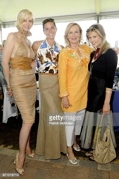 Page Bondurant Blair Farkas Cornelia Sharpe Bregman and Marissa Bregman attend SYBIL and DAVID YURMAN Host A Luncheon For GRAND PRIX SUNDAY at THE...